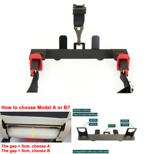 Reliable Latch Isofix Belt Guide Bracket For Child Safety Seat On Compact Suv