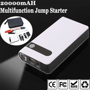 20000mah Car Jump Starter Charger Booster Power Bank Battery Pack Emergency 12v
