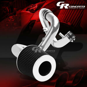 Aluminum Cold Air Intake Pipe black Cotton Filter For 04 06 Scion Xa xb 1nz fe