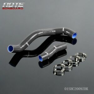Silicone Radiator Hose For Toyota Lexlis Is300 Jce10 2jz Ge 98 05 Black