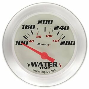 Equus 8462 Electric Water Temperature Gauge