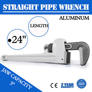 31024 Model 24 Heavy duty Straight Pipe Wrench 24 inch Plumbing Wrench