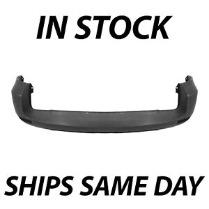 New Primered Rear Bumper Cover For 2006 2008 Toyota Rav4 W out Fender Flares