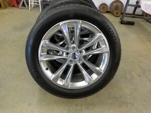 2018 Ford Explorer Limited Wheels And Tires 20 Hankook 255 50r20 Set Of 4 Oem