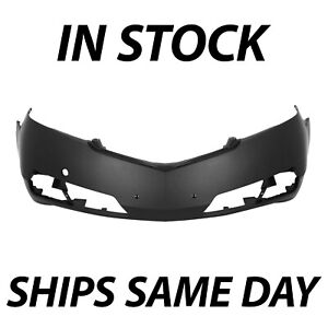 New Primered Front Bumper Cover Replacement For 2009 2010 2011 Acura Tl 09 11