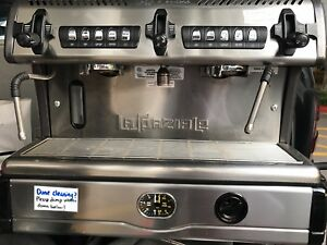 Commercial Espresso Machine La Spaziale S5 Compact Two Group Made In Italy
