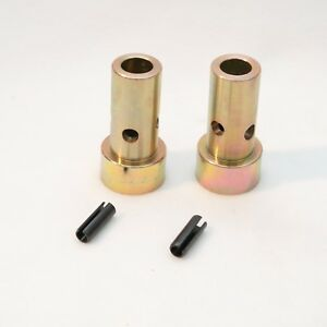 Pair Of Cat 1 Quick Hitch Adapter Bushings Category I 3 pt Tractor Bushing Set