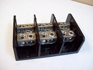 Marathon 1453986 Power Distribution Terminal Block Used Free Shipping