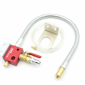 Cutting Cooling Mist Coolant Lubrication Spray System Sprayer Metal Hose For Cnc