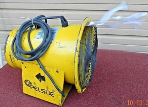 Pelsue 1400d Axial 8 Tube Type Blower 12 Vdc 15amp 1 4 Hp