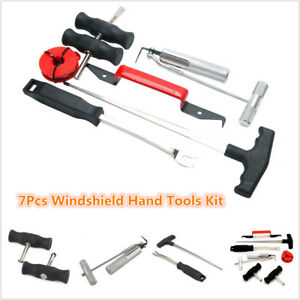 Universal Professional 7pcs Windshield Removal Tools Hand Wind Glass Remover Kit