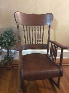 Vintage Victorian Rocking Chair Very Good Condition