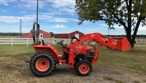 Kubota L2800 Hst 470 Hours Nice Clean Tractor