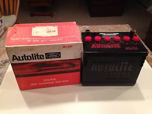 Nos Autolite Group 24 Battery 1969 1970 Boss 302 Ford Mustang 351 289