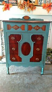 Antique Chest Of Drawers Dresser