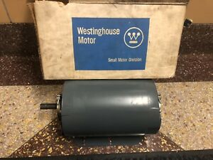 Nos Usa Westinghouse Ac Electric Motor 1 5 Horsepower Hp 1 1 2 Vintage