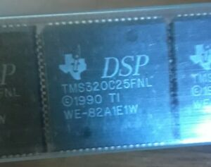T i Dsp Ics Tms320c25fnl Lot Of 4 Pieces Plcc Nos Best Price Usa