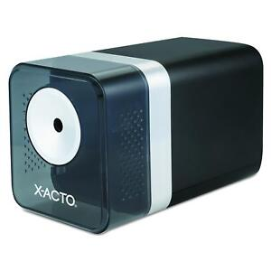 X acto 1744 Power3 Office Electric Pencil Sharpener Black