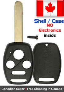 1 New Replacement Remote Key Fob Shell Case For Honda Accord Pilot Kr55wk49308