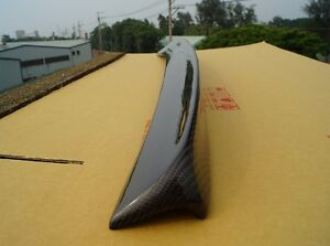 Carbon Toyota Corolla Altis Trunk Deck Lip Spoiler Oe Type Sedan 2002 2008