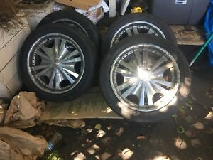 20 Inch Rims And Tire