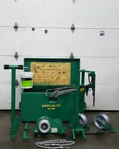 Greenlee 6500 6001 6000 Super Tugger Wire Cable Puller with Extras