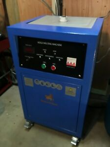 Gold Platinum Induction Melting Furnace 15kw 220v Single Phase Superbmelt Spb h5