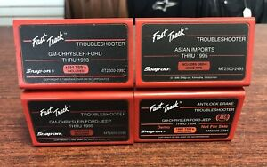 Snap On Lot Of 4 Diagnostic Fast Track