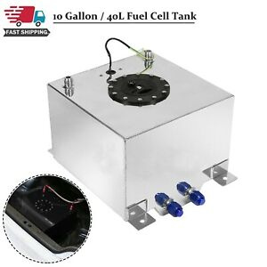 Polished Aluminum Oem Fuel Cell Tank Sender Hot Rod Rat V8 10 Gallon