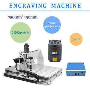 Cnc 3 Axis 6040 Router Engraver Milling Machine Engraving Drilling Usb