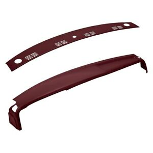 For Dodge Ram 1500 2002 2005 Coverlay 22 805c mr Maroon Dash Cover Combo Kit