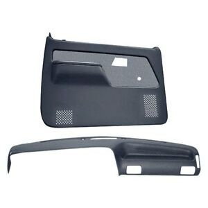 For Ford Ranger 89 92 Dashboard Cover Slate Gray Dash Cover Door Panels Combo
