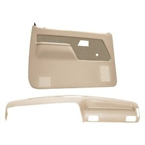 For Ford Ranger 89 92 Dashboard Cover Neutral Dash Cover Door Panels Combo Kit
