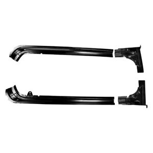 For Dodge Coronet 1969 Auto Metal Direct Trunk Weatherstrip Gutter Kit