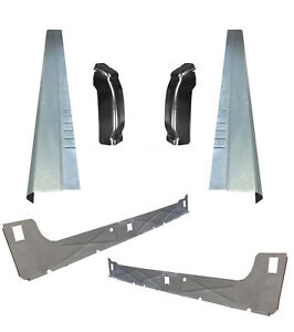 1999 07 Chevy Silverado 4dr Ext Cab Inner Outer Rocker Panels With Cab Corners