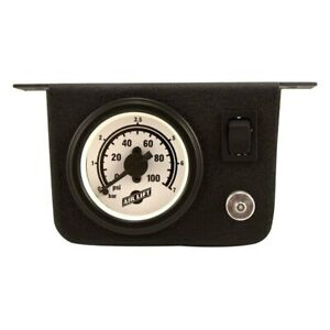 Air Lift 26156 Single Needle Gauge Panel