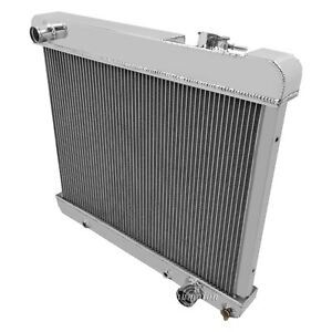 For Pontiac Bonneville 61 66 All Aluminum Engine Coolant Radiator