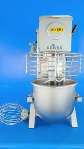 Univex Srm12 12 Quart Countertop Mixer 115v 1ph