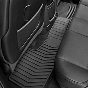 15 18 Tahoe Suburban Yukon Escalade 2nd Row Premium All Weather Floor Mat Black