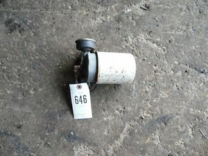 Allis Chalmers C Tractor Engine Oil Filter Bracket Tag 646