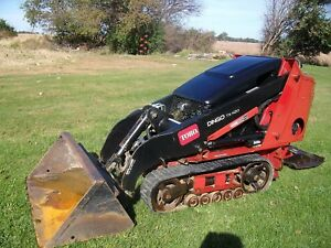 2008 Toro Dingo Tx 420 Mini Track Skid Steer Loader 22306