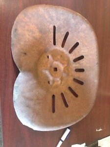 Antique Vintage Metal Tractor Seat