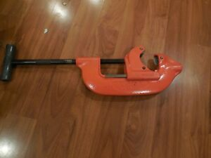 Ridgid No 4 Heavy Duty Pipe Cutter 2 To 4 Clean Free Usa Shipping