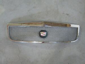 2000 2001 2002 Cadillac Deville Dhs Dts Classic Grille Grill Chrome Mess E
