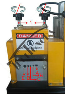 110v 370w Wire Stripper Stripping Machine Scrap Copper Diameter 2 20mm