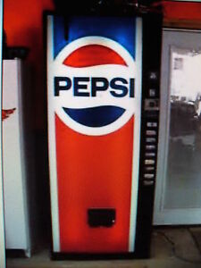 Pepsi Dixie Narco Pop Soda Machine 2 Years Fully Guaranteed