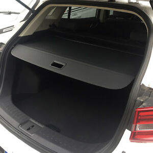 Black Rear Cargo Trunk Shade Security Cover For Bmw X5 E53 2000 2006