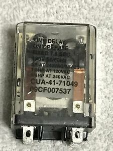 Milnor Time Delay Relay 11 Pin 120v60c 09cf007537