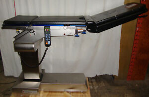 Schaerer Omi Medical 7300 001 Or Mobile Surgery Surgical Table W Controller