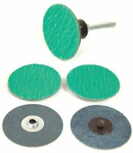 Precision Abrasives Quick Change Laminated Roloc Discs 2 60 Grit